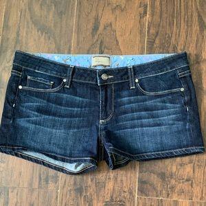 PAIGE Jean Shorts Size 31 Excellent Condition